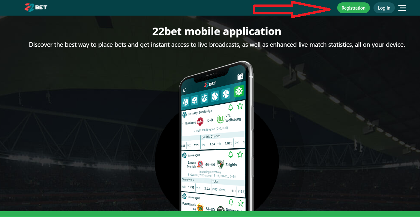 Maximum benefits of completing the 22bet login process